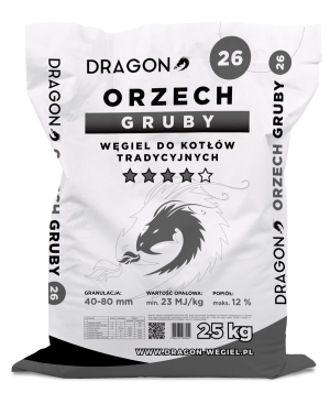 Dragon Orzech Gruby